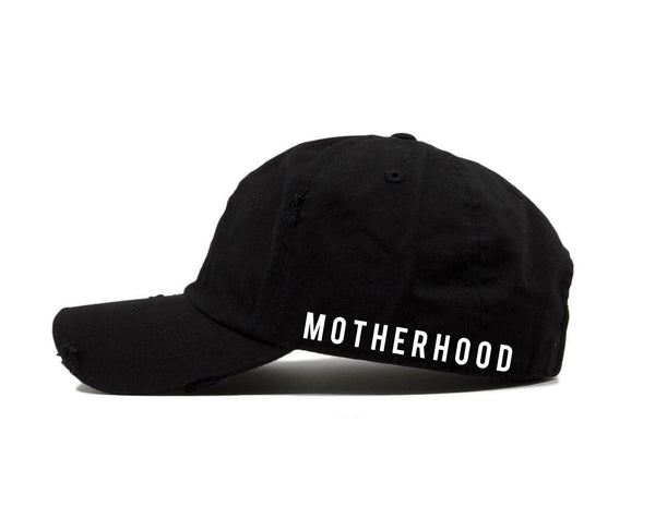 Hats - Distressed Motherhood Hat