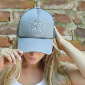 Hats - Grey MAMA Hat