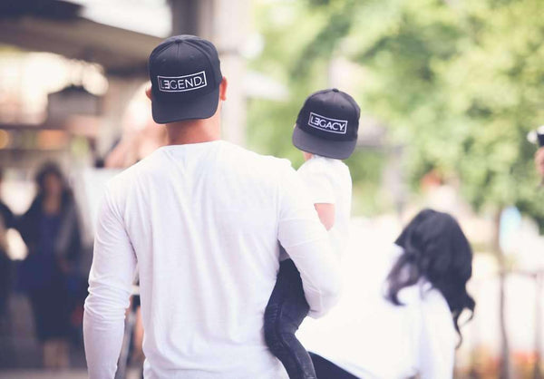 Hats - LEGEND And LEGACY Black Snapback Hats