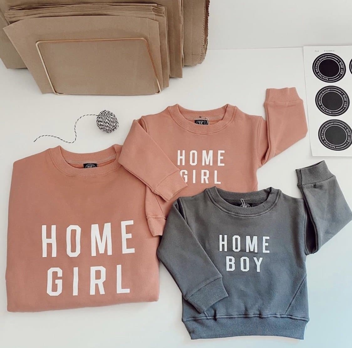 Home Girl and Home Boy Sweatshirts