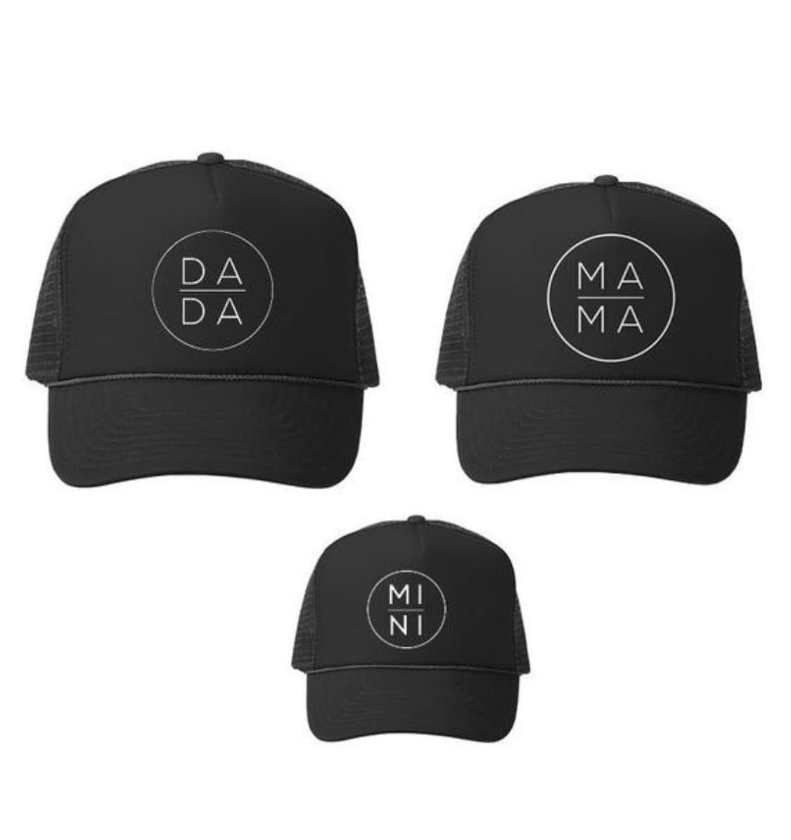 Family Hats - Mama, Dada and Mini