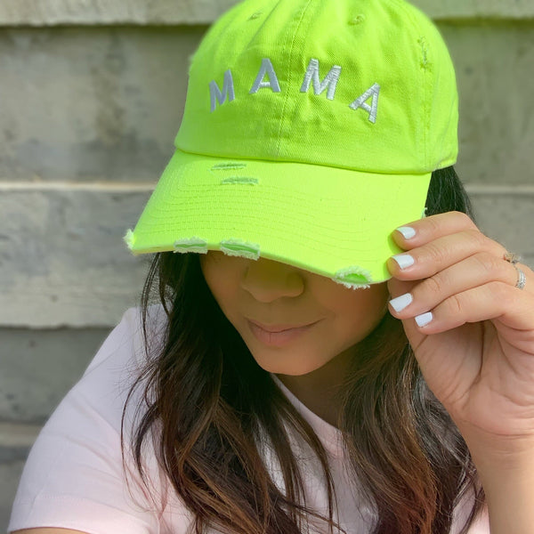 Color Pop Collection: NEON MAMA hat
