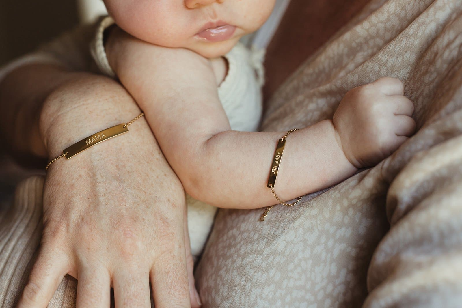 Forever Mama Jewelry Collections: Bracelets - Mama, Grand Mama, Mini Mama, Rainbow Baby