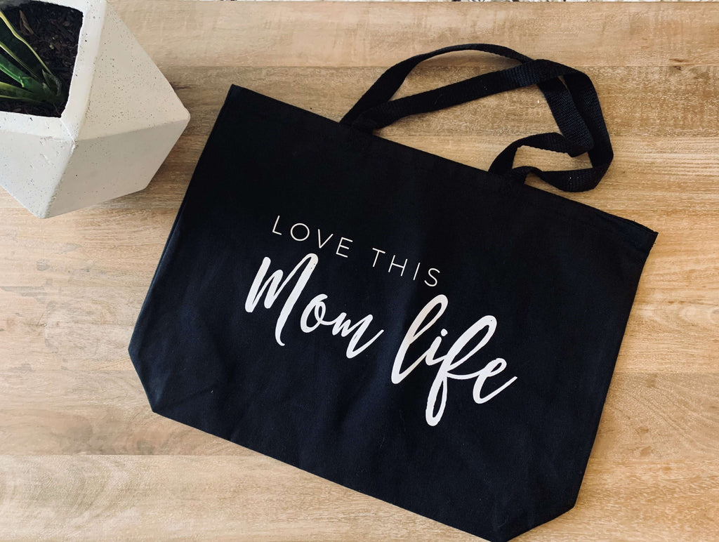 Love This Mom Life Tote Bag