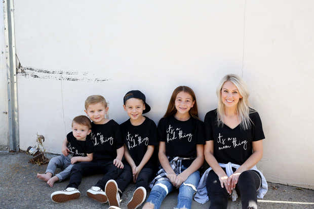 It's A Mom, Baby, Kid Thing - Family Shirt Collection 1
