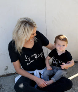 MAMA Slouchy Shirt - It's A Mom, Baby, Kid Thing - Family Shirt Collection