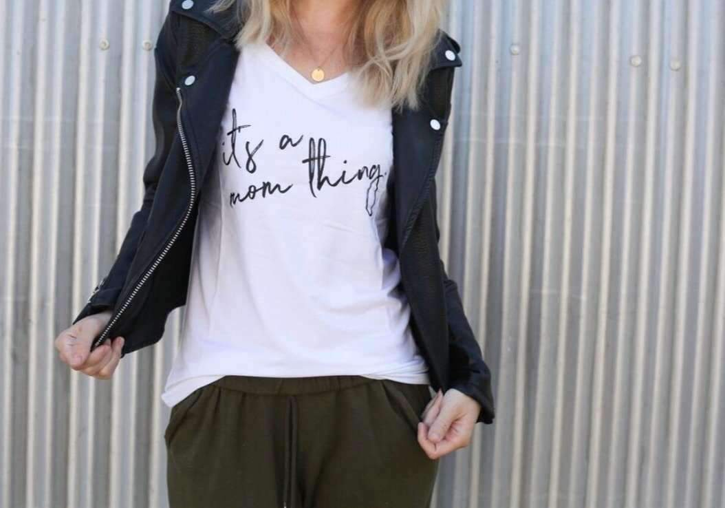 It's A Mom Thing Slouchy Shirt