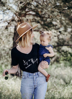 Load image into Gallery viewer, MAMA Slouchy Shirt - It's A Mom Thing Slouchy Shirt