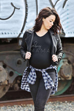 Load image into Gallery viewer, Maternity Shirt - Baby Mama Maternity Shirt