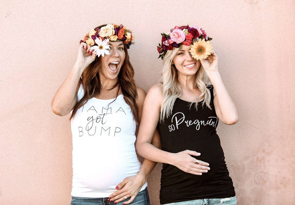 Maternity Shirt - Mama Got Bump Maternity Tank