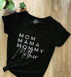 Mom Names Shirt