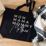 Load image into Gallery viewer, Mom Names Tote Bag