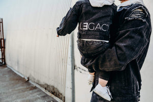 PRESALE LIMITED EDITION - Distressed Black Legend And Legacy Denim Jackets
