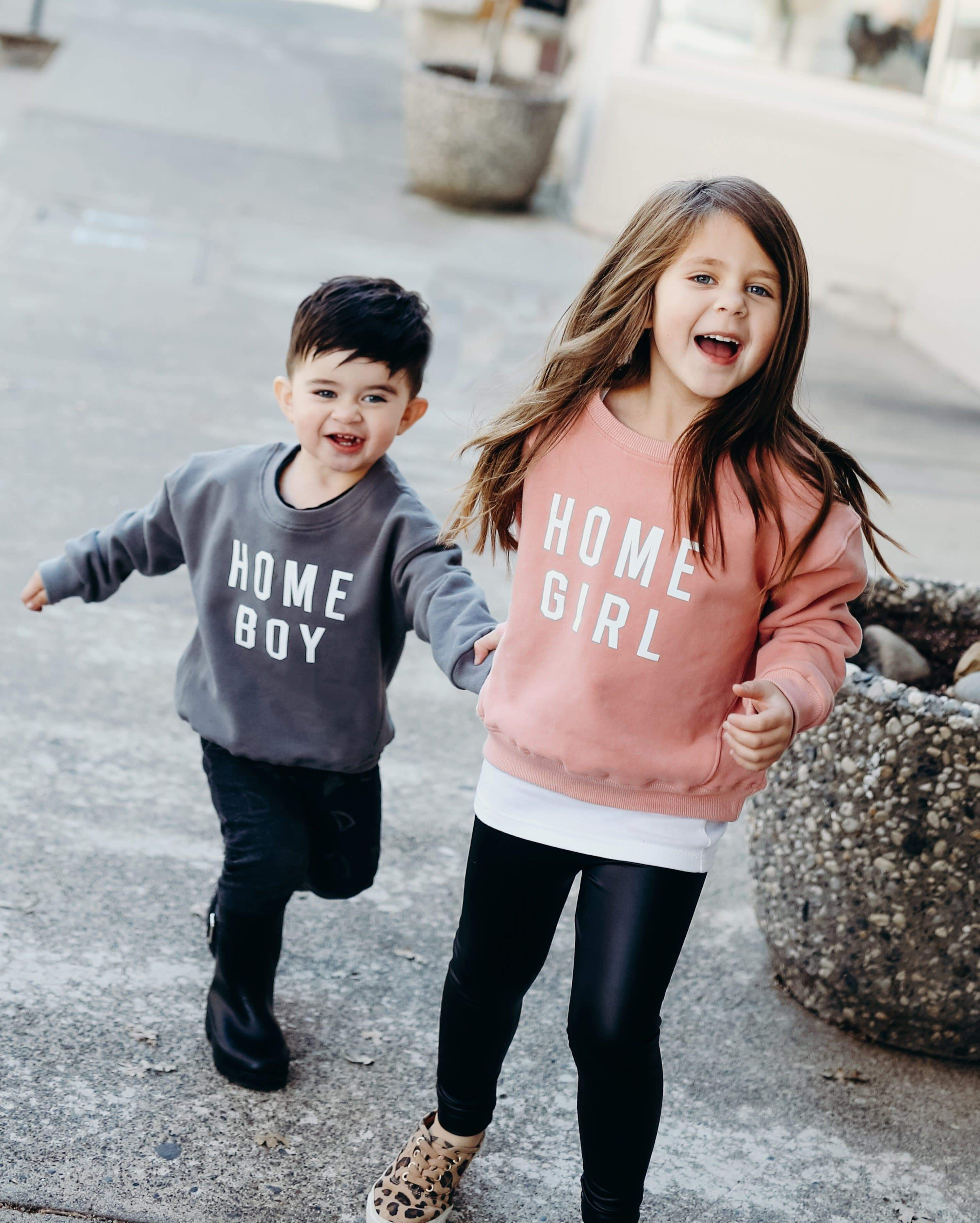 PRESALE LIMITED EDITION - Home Girl And Home Boy Sweatshirts