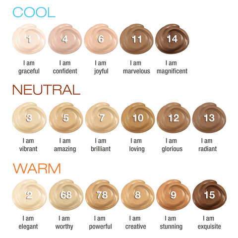 creme mineral foundation swatch