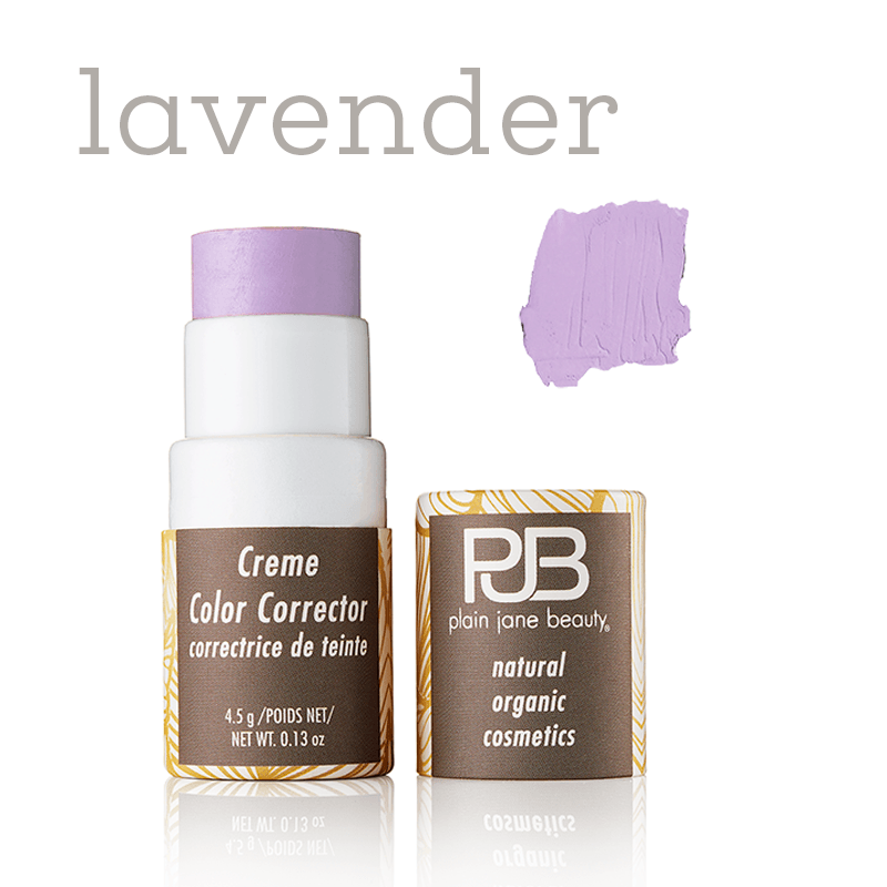 lavender color corrector for correcting yellow