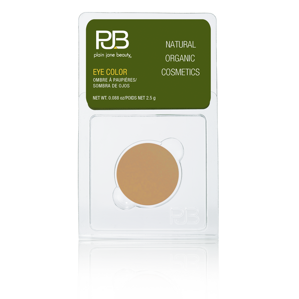 Plain Jane Beauty - natural eye shadow - Honey Pot - matte