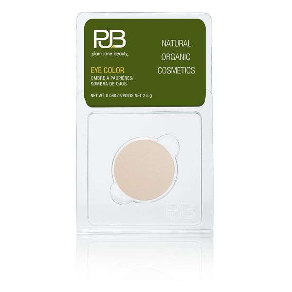 Plain Jane Beauty - natural eye shadow - Halo - matte