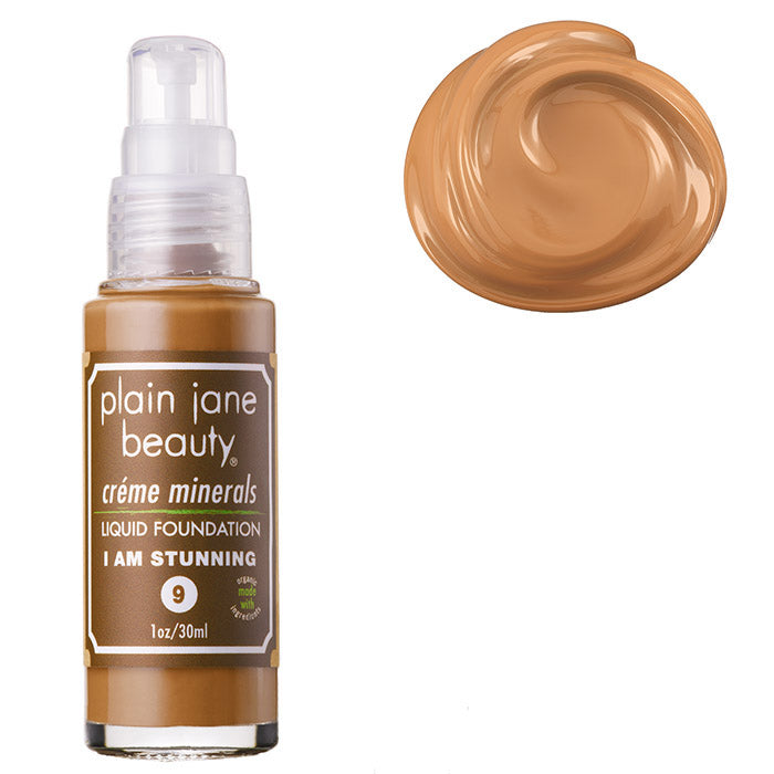 Best natural and organic foundation, cruelty-free, vegan, oily skin, dry skin