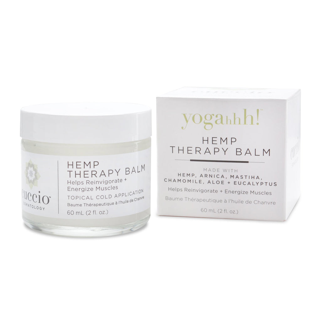 Cuccio Somatology Yogahhh! Hemp Therapy Balm 2oz.