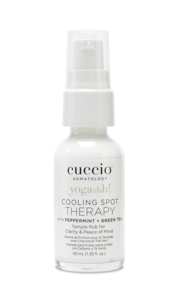 Cuccio Somatology Temple Cooling Therapy with Peppermint 1.35oz.