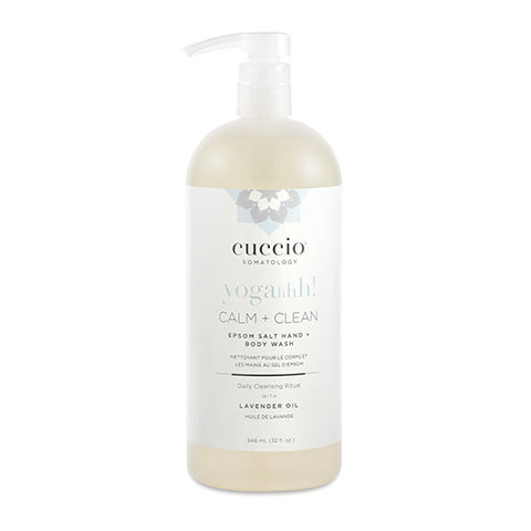 Cuccio Somatology Calm + Clean Hand + Body Wash 32oz