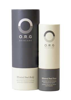 O.R.G Face and Body Mineral Peel Duo - 59ml / 236ml