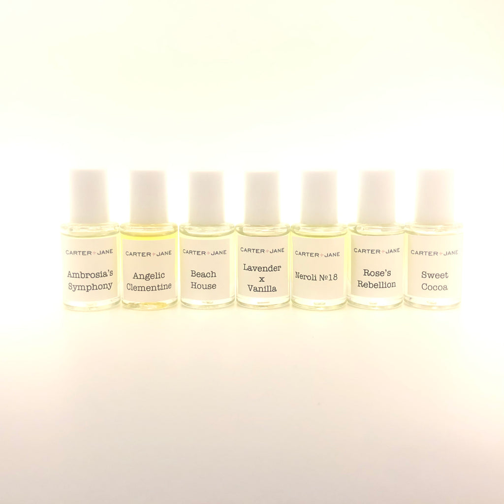 Carter + Jane Seven Scent Journey Collection 6ml