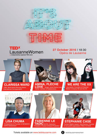Citizen's Mark at TEDxLausanneWomen