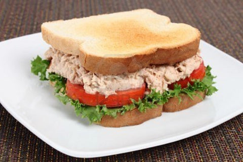 Tuna Sand Salad Sandwich