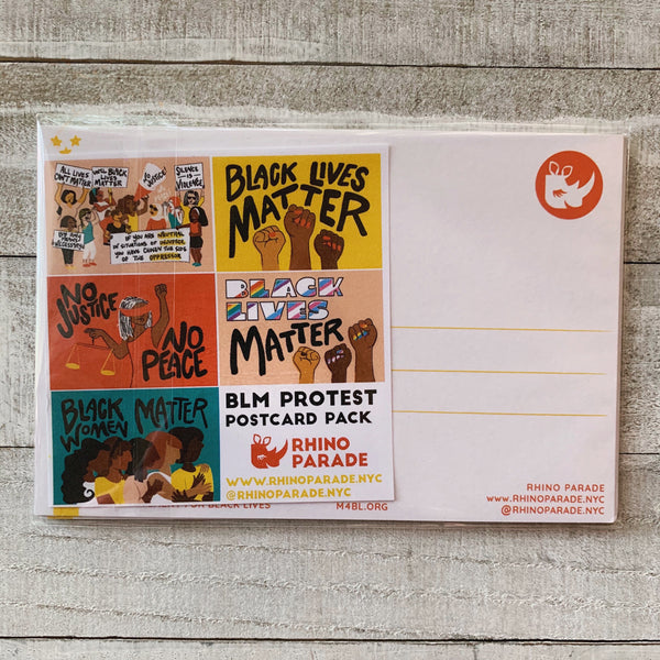 Protest Postcard Packs - Pack of 5 Postcards