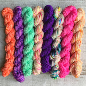 Cute Caboodle Mini Skein Set - PREORDER - Dyed to Order