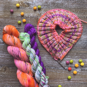 Curated Held Together Hat Kit -- 1 Full Skein + 2 20g Minis -- Ready to Ship