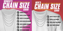 Necklace Size Chart For Men & Women - Complete Guide