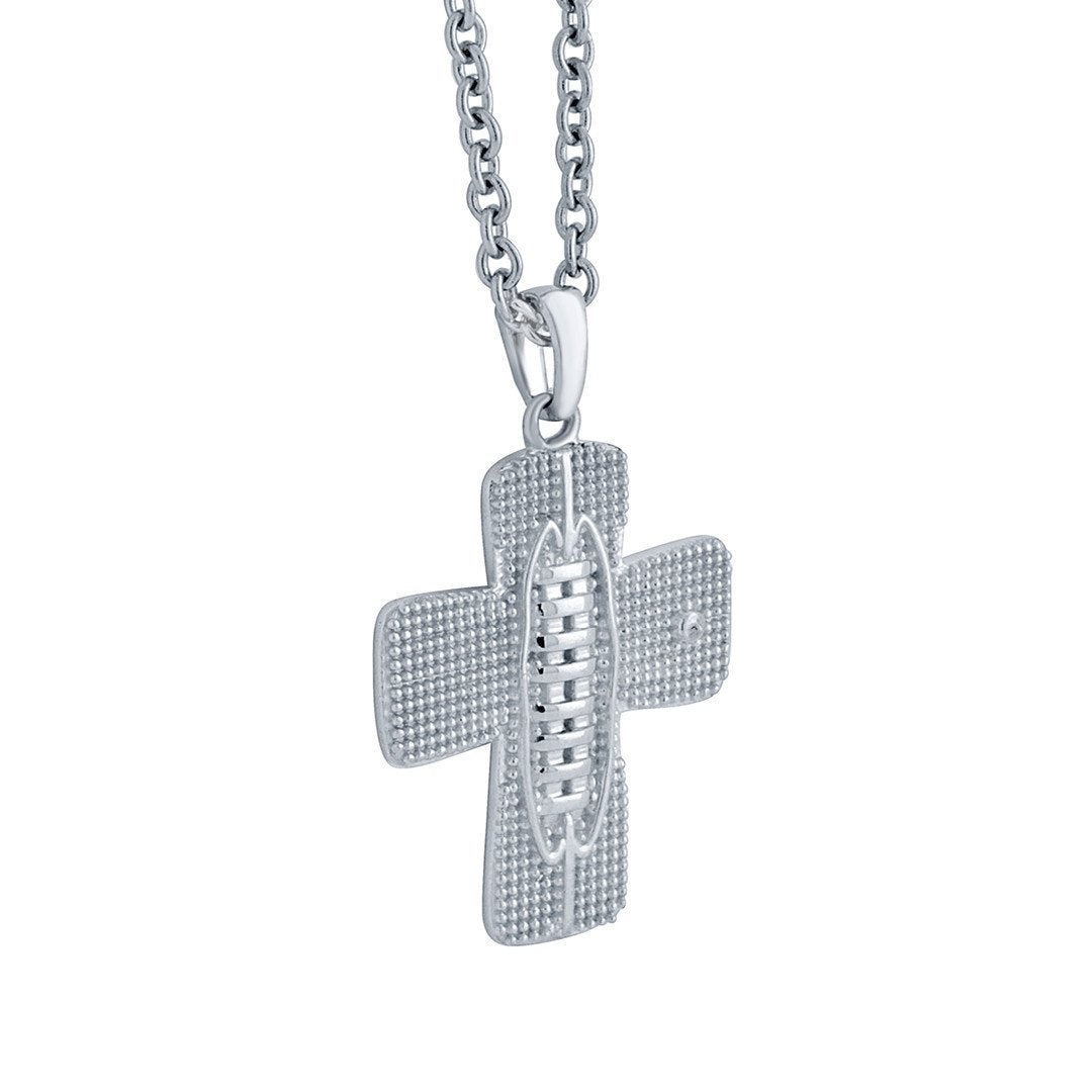 silver zm kay kaystore zoom mv hover necklace en sterling to francisco football san