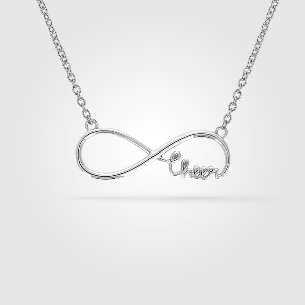 Infinity Cheer Necklace