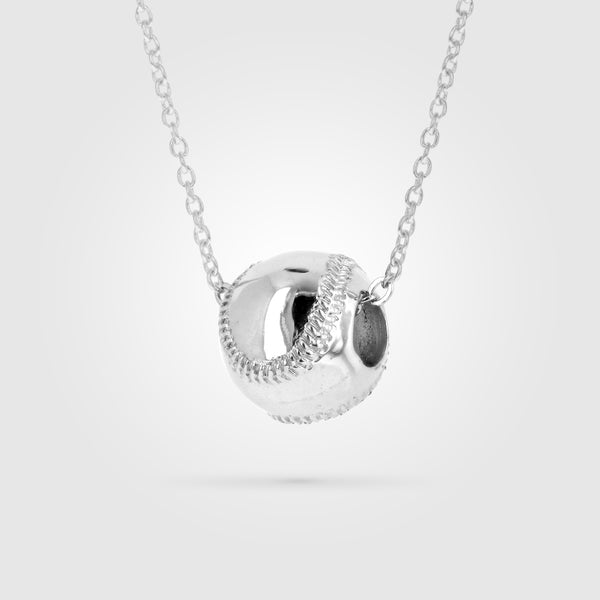 Baseball Two Seam Necklace
