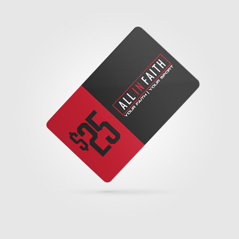 All In Faith Gift Card