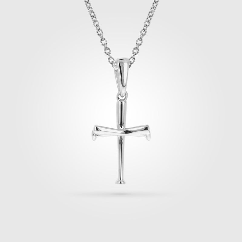 Women's Bat Cross Necklace