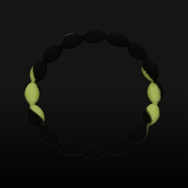 NightGlow Football Power Bracelet