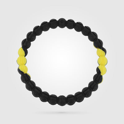 Baseball Power Bracelet Yellow and Black
