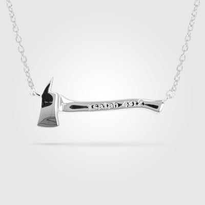 Women's Firefighter Axe Necklace Pendant