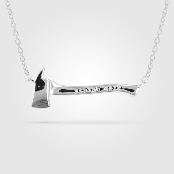 Women's Firefighter Axe Necklace