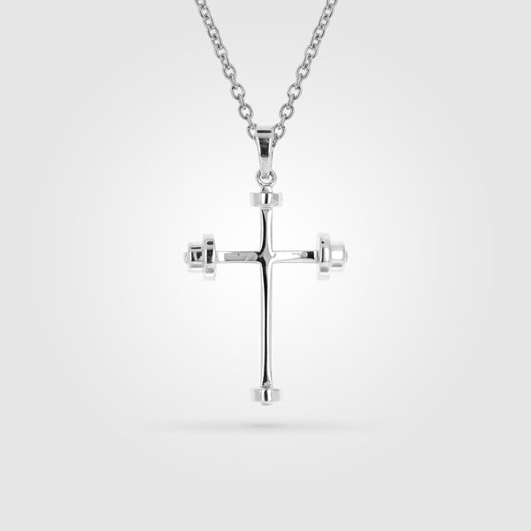 Mini Athlete's Cross Necklace