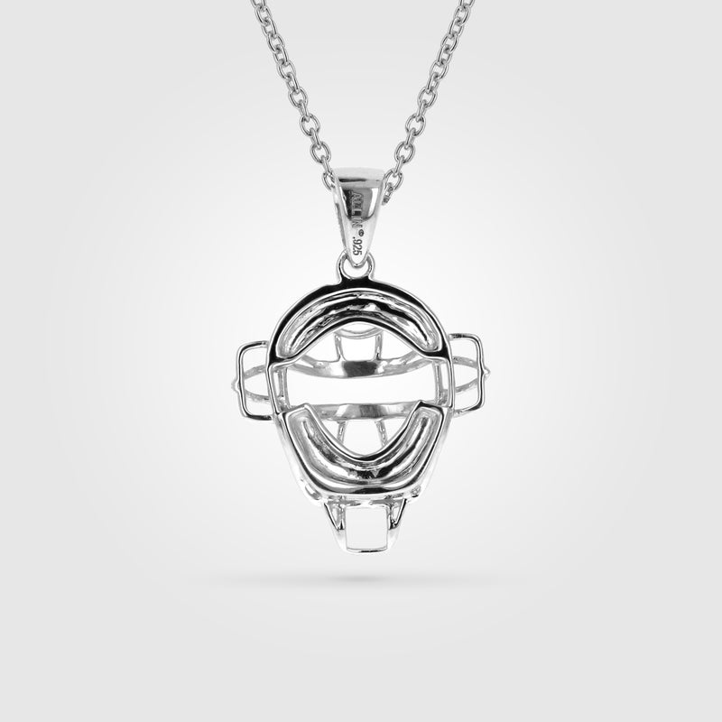 Women's Baseball Catchers Mask Necklace