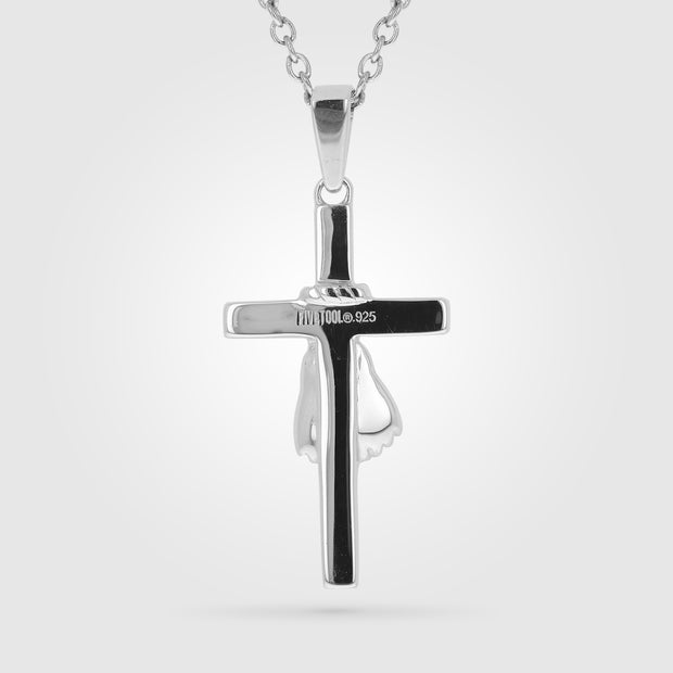 MMA Glove Cross Pendant