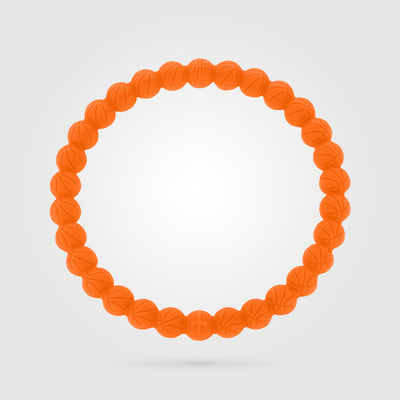 BASKETBALL POWER BRACELET ORANGE