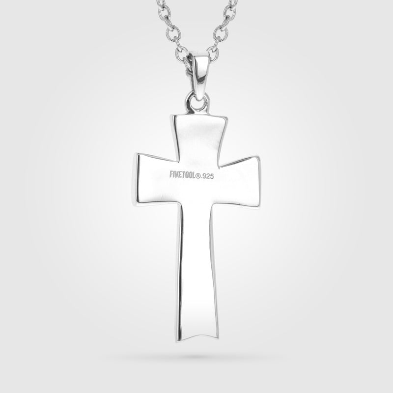 FiveTool Stitch Cross Necklace