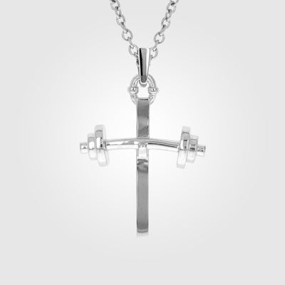 Barbell Small Cross