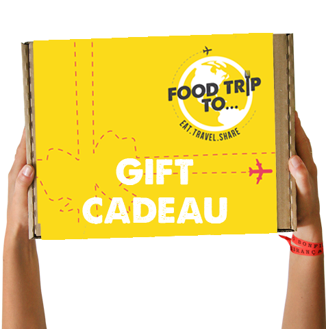 Carte cadeau Food Trip To...